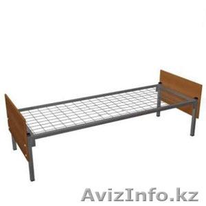 Армейские металлические кровати, двухъярусные кровати для детских лагерей, оптом - Изображение #5, Объявление #1421169