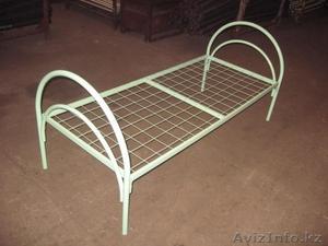 Армейские металлические кровати, двухъярусные кровати для детских лагерей, оптом - Изображение #2, Объявление #1421169