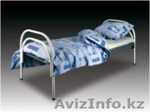 Армейские металлические кровати, двухъярусные кровати для детских лагерей, оптом - Изображение #4, Объявление #1421169
