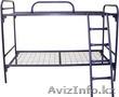 Кровати металлические двухъярусные для рабочих,  кровати металлические дёшево.